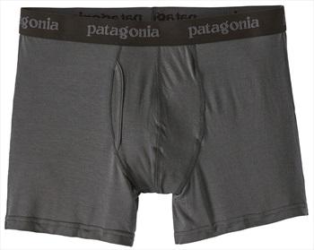 "Patagonia Essential Boxer Briefs 3"" Underwear, S Forge Grey"