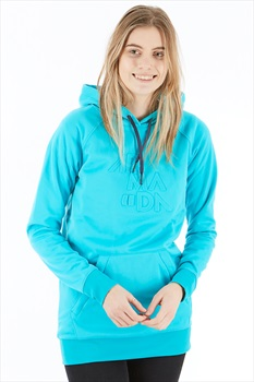 Armada Parker Womens Pullover Tech Hoodie, L Peacock Blue