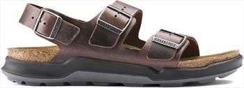 Birkenstock Adult Unisex Milano Ct Oiled Leather Sandal, Uk 8 Habana
