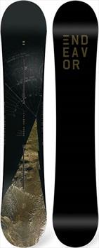 Endeavor BOD Board Of Directors Hybrid Camber Snowboard, 160cm Wide 2020