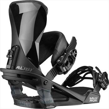 Salomon Alibi Snowboard Binding, M Black 2020