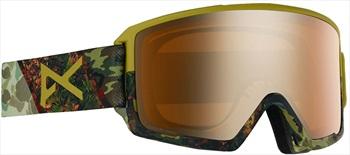 Anon M3 Sonar Bronze Ski/Snowboard Goggles, M/L Camo