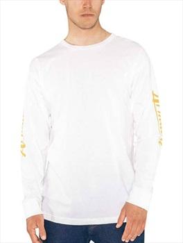 Armada Adult Unisex Cipher Long Sleeve T-Shirt, S White