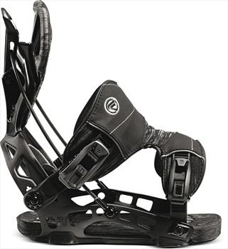 Flow Nx2 Gt Fusion Step In Snowboard Bindings, M Black 2021