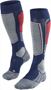 Falke SK2 Merino Wool Women's Ski Socks, UK 2.5-3.5 Dark Night