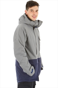 Sessions Supply Ski/Snowboard Jacket, L Gunmetal
