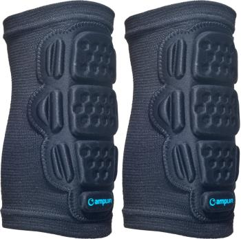 Amplifi Elbow Sleeve Ski/Snowboard Protection Elbow Pads, L Black