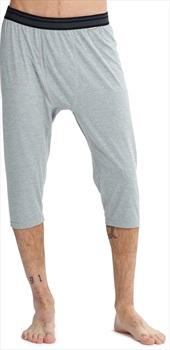 Burton Midweight Shant 3/4 Length Thermal Pant XS Monument Heather