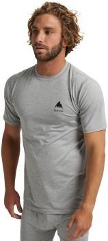 Burton Lightweight X Tee Base Layer T-Shirt, S Grey Heather