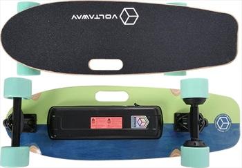 "Voltaway Goober Dual Motor Electric Skateboard, 28"" Pistacchio"