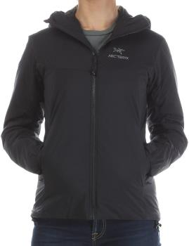 Arcteryx Womens Atom Ar Hoody Women's Insulated Jacket, Xs / Uk 6 Black