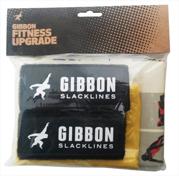 Gibbon Fitness Upgrade Slackline Accessory, Black/Yellow