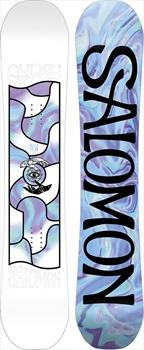 Salomon Gypsy Women's Hybrid Camber Snowboard, 143cm 2020