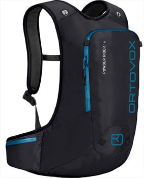 Ortovox Powder Rider All Mountain Backpack, Black Raven 16L