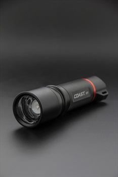 Coast HP7 Plus Torch IPX4 Handheld Flashlight, 400 Lumens Red
