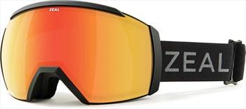 Zeal Hemisphere Polarized Phoenix Snowboard/Ski Goggles, M Dark Night