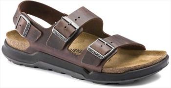 Birkenstock Adult Unisex Milano Ct Oiled Leather Sandal, Uk 10.5/11 Habana