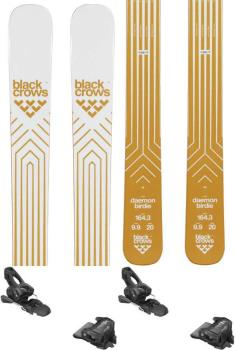 Black Crows Daemon Birdie Attack2 11 GW Women's Skis, 164cm Wht/Gold 2020