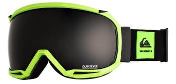 Quiksilver Hubble Dark Smoke Ski/Snowboard Goggles, M/L Limeade