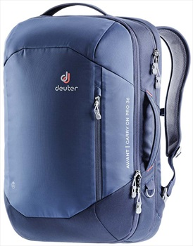 Deuter Aviant Carry On Pro 36 Travel Backpack, 36L Midnight/Navy