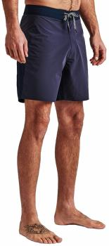 "Roark Adult Unisex Savage 17"" Board Shorts, 32"" Boatman Navy"