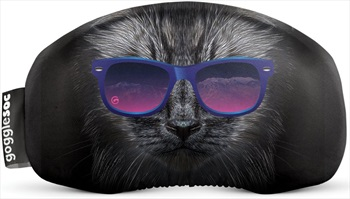 Gogglesoc Snowboard/Ski Lens Cover, Bad Kitty Soc