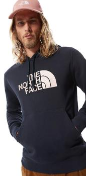 The North Face Adult Unisex Drew Peak Pullover Climbing Hoodie, L Navy/Pink