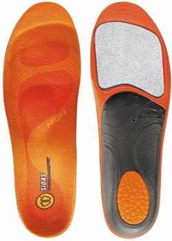 Sidas Winter 3Feet High Ski/Snowboard Boot Insoles, M Orange