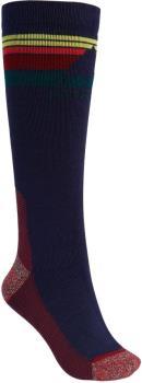 Burton Womens Emblem Midweight Women's Ski/Snowboard Socks, M/L Dress Blue
