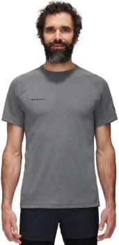 Mammut Adult Unisex Aegility Technical Short Sleeve T-Shirt, L Phantom Melange