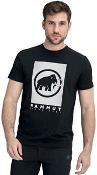 Mammut Trovat T-Shirt Short Sleeve Climbing Tee, S Black-White PRT2