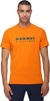 Mammut Trovat T-Shirt Short Sleeve Climbing Tee, M Dark Radiant PRT1