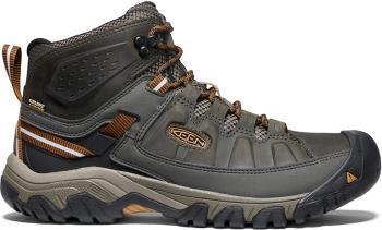 Keen Targhee III Mid WP Hiking Boots, UK 9.5 Black Olive/Brown