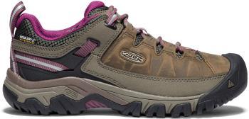 Keen Targhee III WP Women's Walking Shoes, UK 5.5 Weiss/Boysenberry