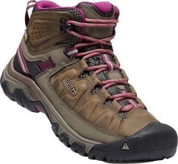 Keen Targhee III Mid WP Women's Hiking Boots UK 5.5 Weiss/Boysenberry