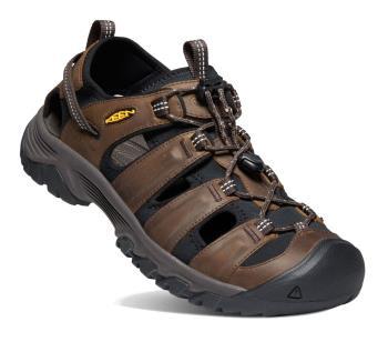 Keen Adult Unisex Targhee Iii Walking Sandals, Uk 11 Bison/Mulch