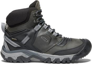 Keen Ridge Flex Mid WP Hiking Boots, UK 9.5 Magnet/Black