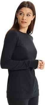 Burton Midweight Crew Women's Fast-Dry Thermal Top, XL True Black