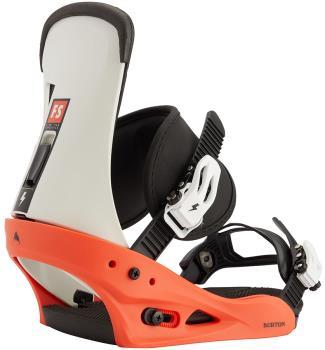 Burton Freestyle Re:Flex Snowboard Bindings, Medium Red/White.Black 2021