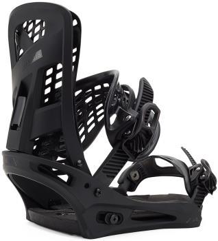 Burton Genesis Re:Flex Snowboard Bindings, Large Matty Black 2021