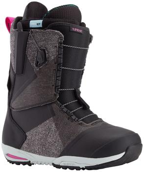 Burton Supreme Women's Snowboard Boots, UK 4.5 Black 2021