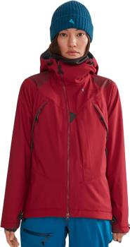 Klattermusen Jolner Women's Ski Mountaineering Jacket, UK 10 Russet