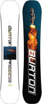 Burton Process Positive Camber Snowboard, 159cm 2022