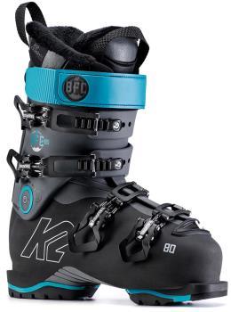 K2 Womens Bfc W 80 Women's Ski Boot, 24/24.5 Blue/Black