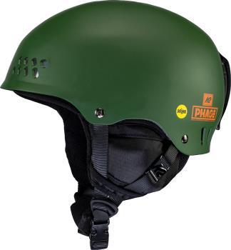 K2 Phase Pro MIPS Ski/Snowboard Helmet, L/XL Forest Green