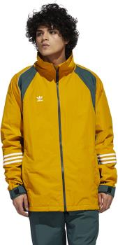 Adidas 10K DNA Full-Zip Ski/Snowboard Jacket, S Gold/Green/White