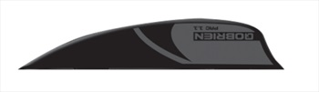 "O'Brien PAC Wakesurf Fin, 1.35"" Fin Kit Black"