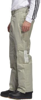 Adidas Adult Unisex 10k Cargo Ski/Snowboard Pants, S Grey