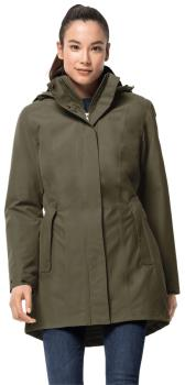 Jack Wolfskin Madison Avenue Women's Waterproof Jacket, S Granite