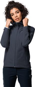 Jack Wolfskin JWP Shell Women's Waterproof Jacket, L Night Blue